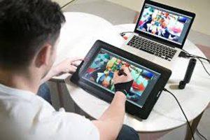 تبلت های دارای صفحه نمایش برای نقاشی دیجیتال