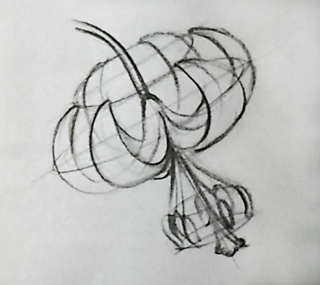 طراحی از گل، نقاشی دیجیتال